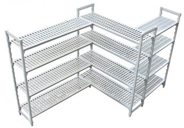 KH Adjustable Plastic Shelving