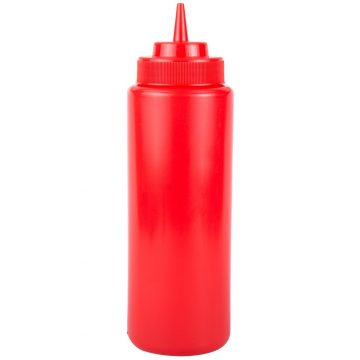 KH Plastic Squeeze Bottle Red