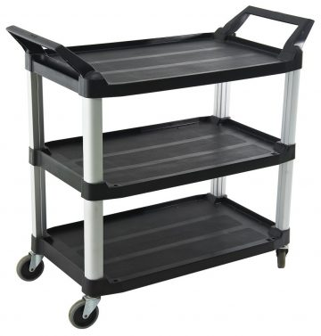 TRUST 3 Tier Large Utility Service Cart