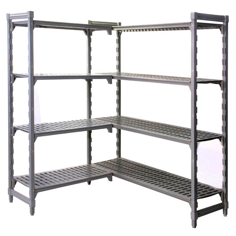 Adjustable Wire And Plastic Shelving