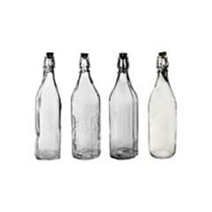 Water Bottle and Carafe