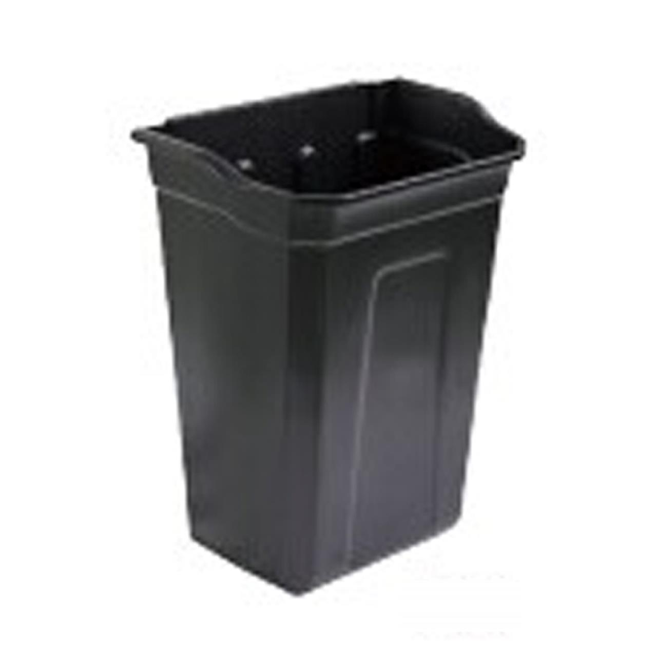 TRUST Refuse Bin For Trolley Black