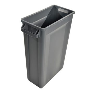 TRUST Commercial Slim Bin Grey
