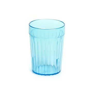 Healthcare Blue Re-Usable Plastic Tumblers