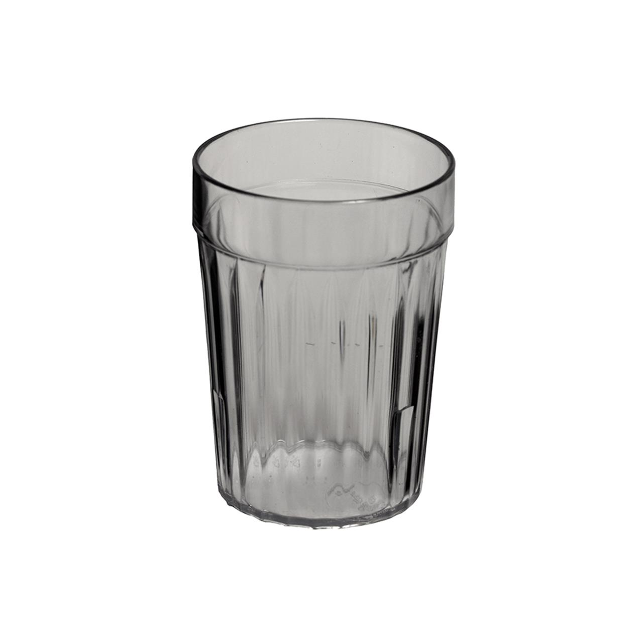 KH Clear Re-Usable Plastic Tumblers