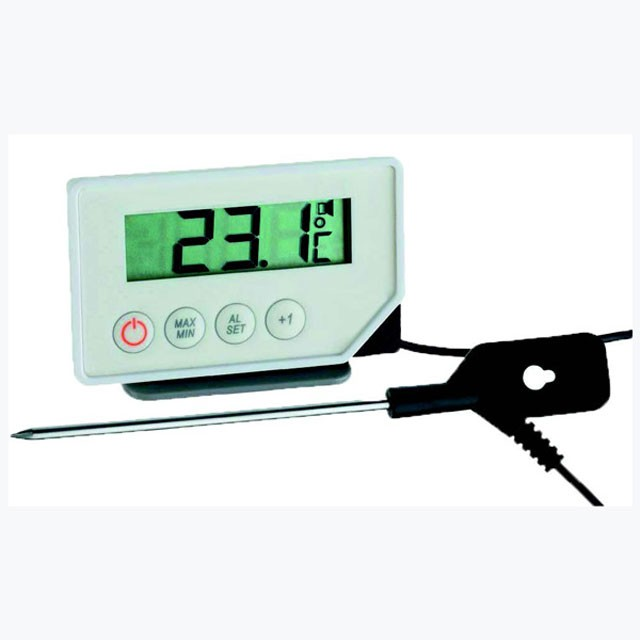 Digital Probe Thermometer With Alarm