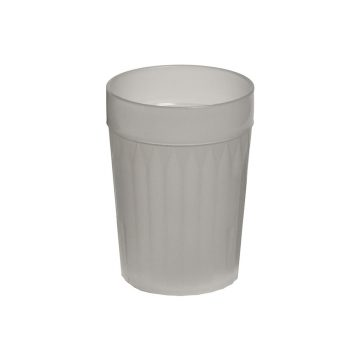 Frosted Re-Usable Plastic Tumblers
