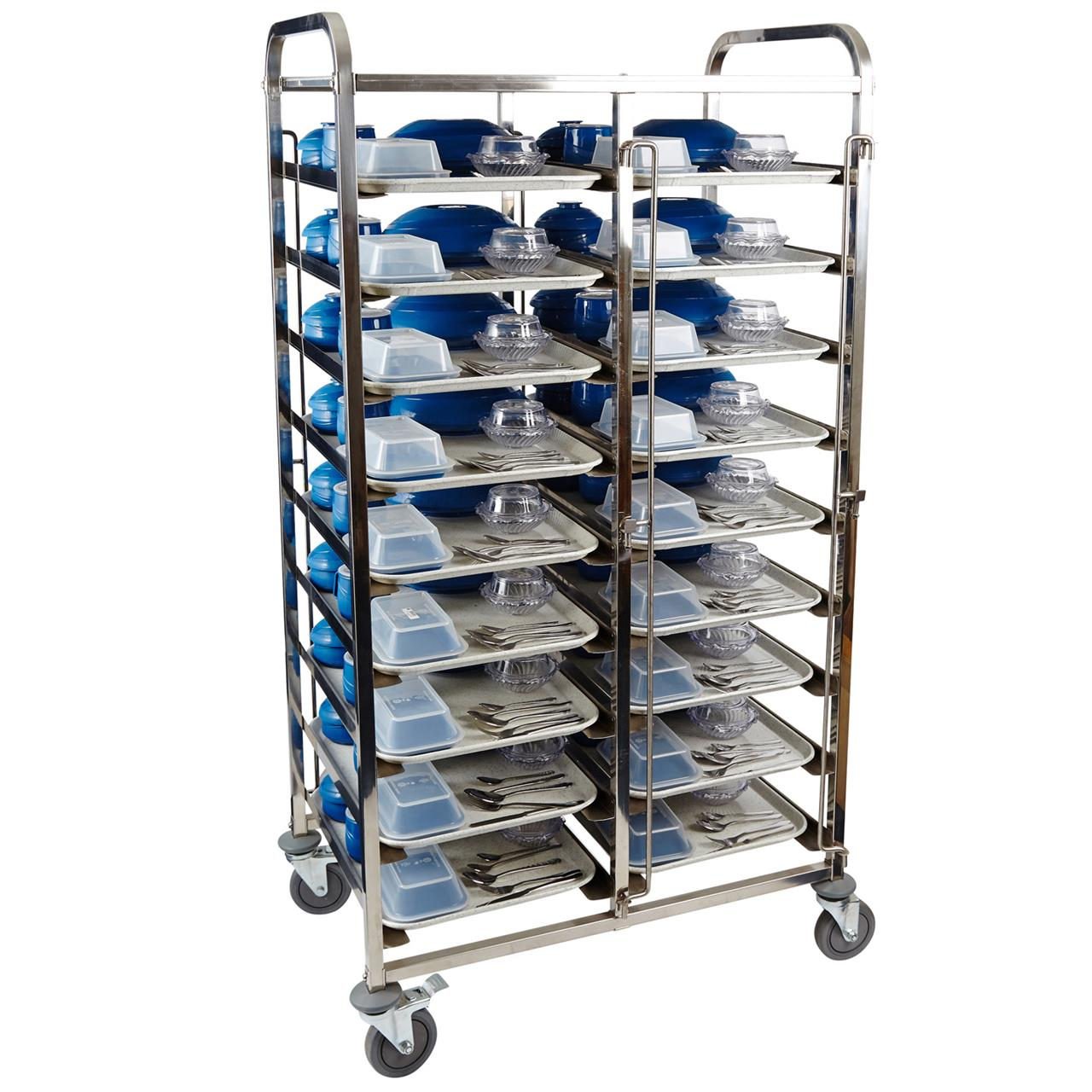Healthcare Meal Delivery Trolley 9 Tier