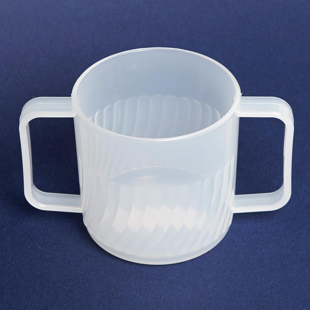 Clear Double Handle Mug