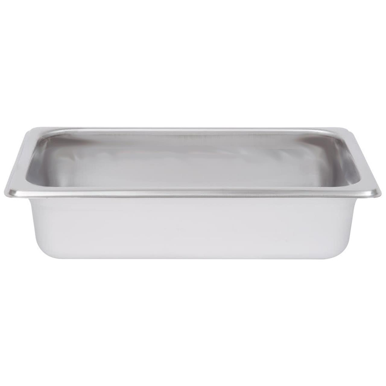 1/4 Stainless Steel Steam Pan