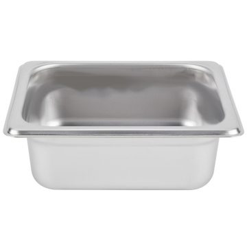 1/3 Stainless Steel Steam Pan