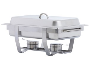 Stainless Steel Chafers & Water Pans