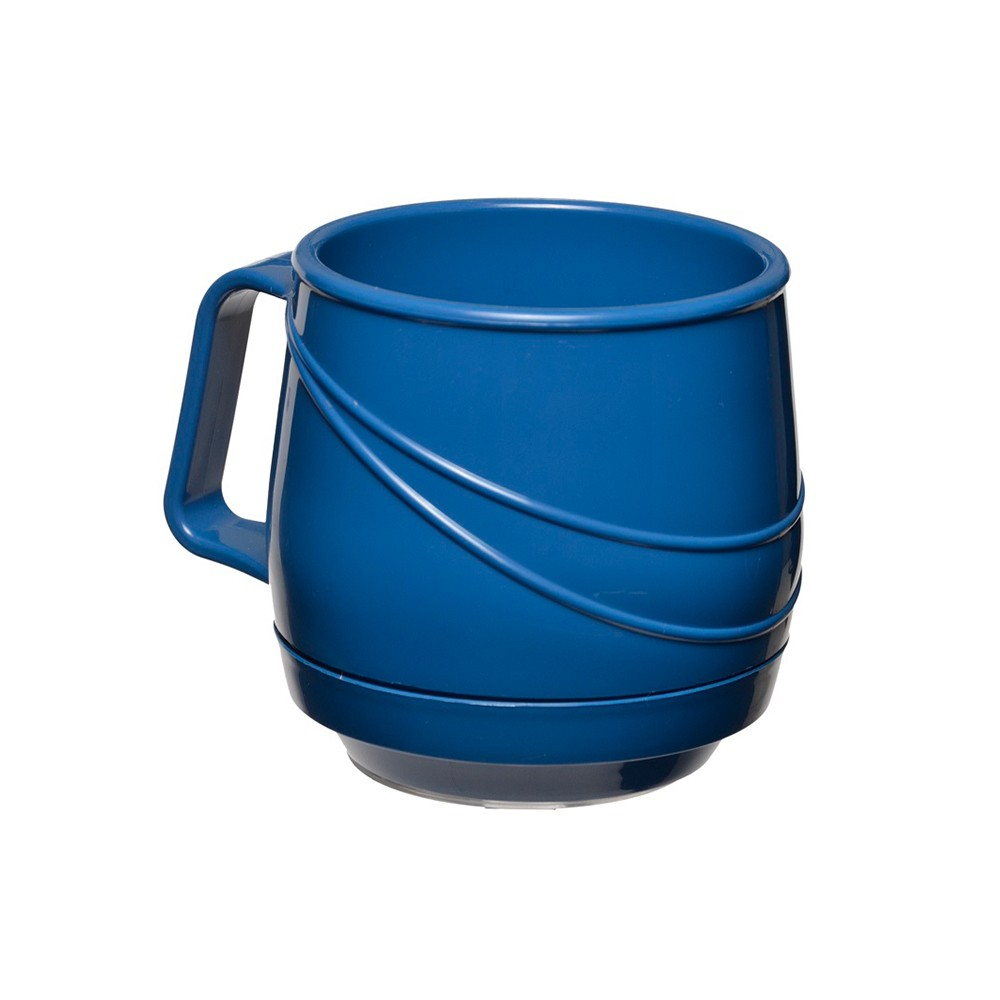 KH Moderne Insulated Single Handle Mug Blue