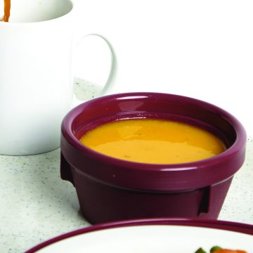 KH Traditional Insulated Soup Bowl Burgundy