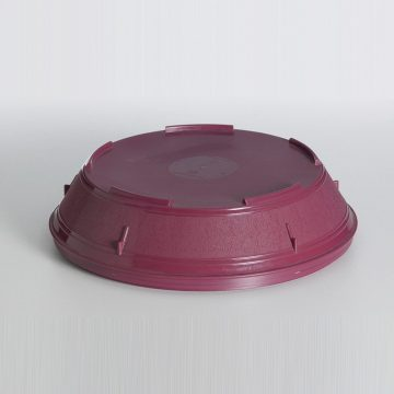 KH Traditional Plate Cover Insulated Burgundy