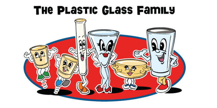 The Plastic Glass Family