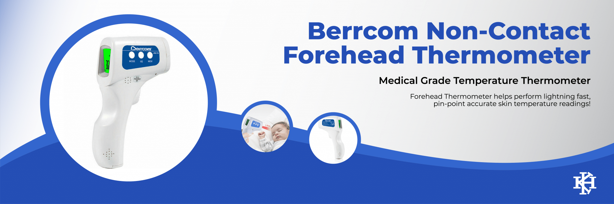 Berrcom Non-Contact Forehead Thermometer